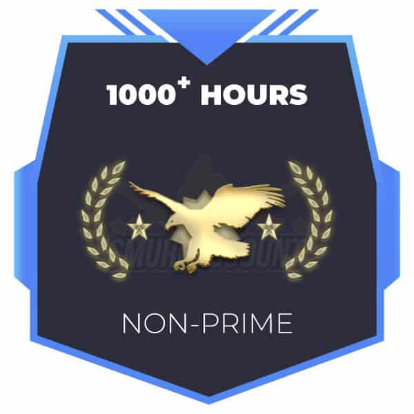 Legendary Eagle Master Non-Prime | 1000 Hours | Faceit Ready [Instant Delivery]